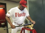 Don Baylor boning the bat