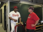 Don Baylor, Jeff, and the Aggie bone
