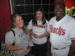 Melanie, Haley, and Don Baylor