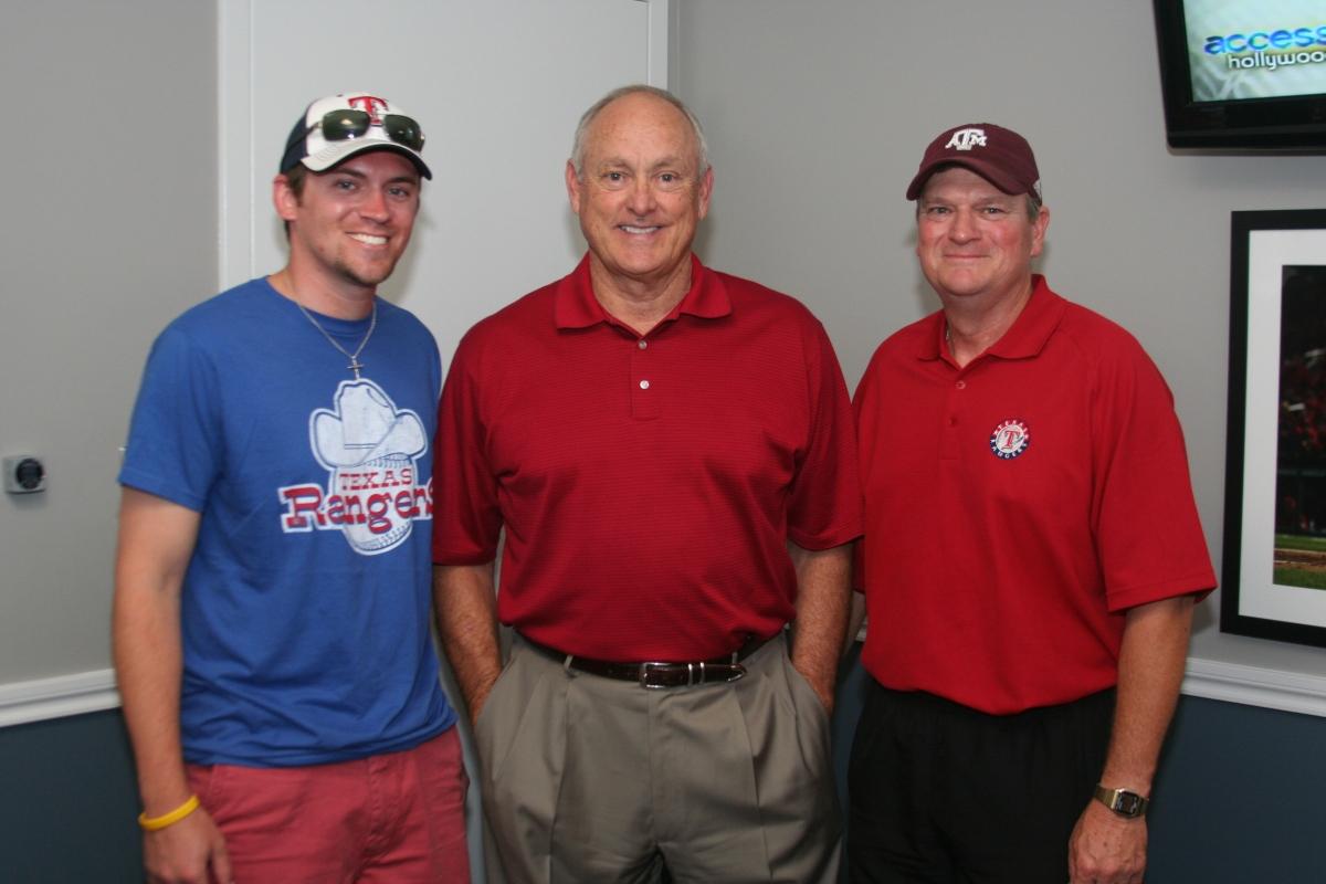 Clayton, Nolan Ryan, and Ray