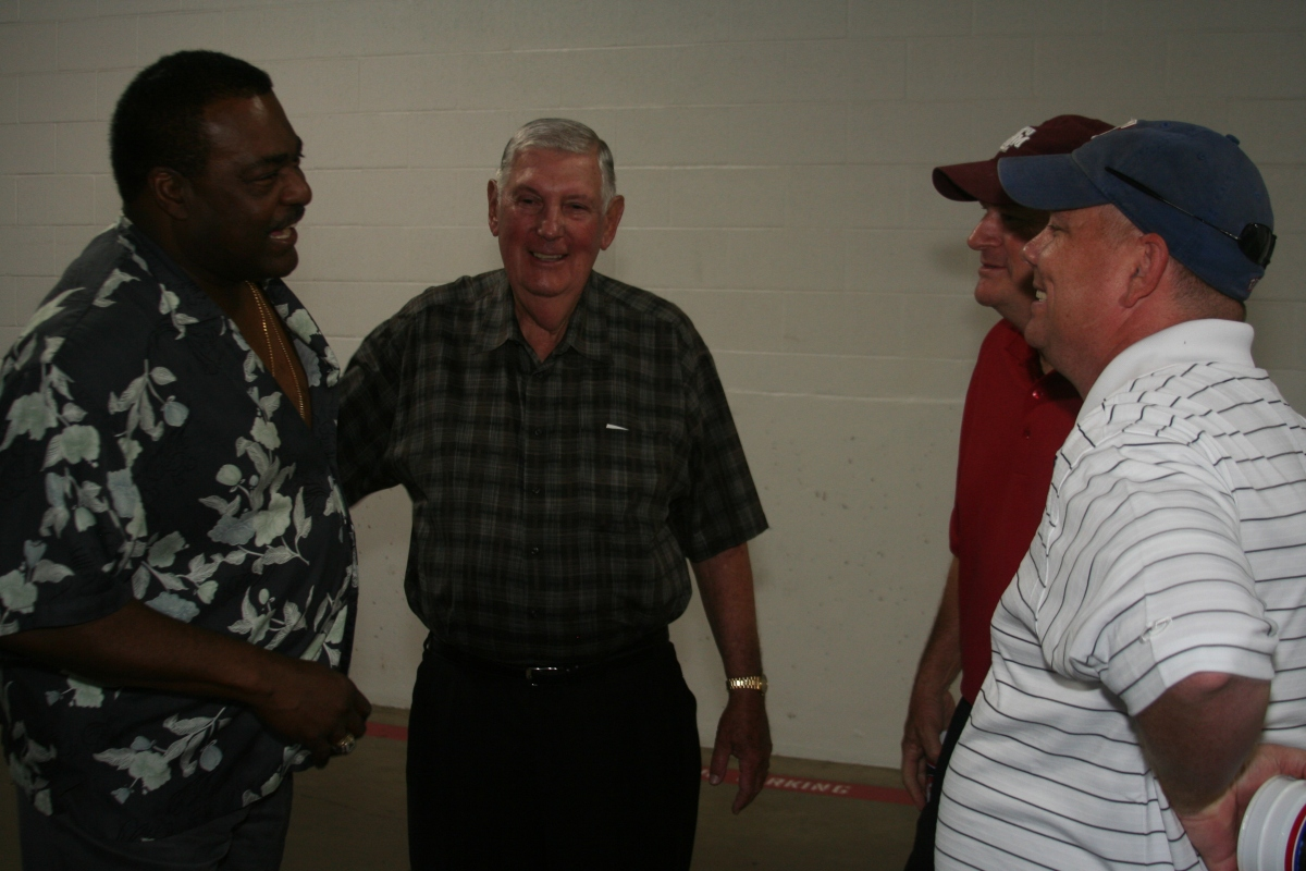 Don Baylor, Frank Seale, Ray Riley, and Thomas Larriviere