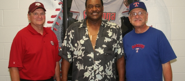 Ray, Don Baylor, and Jeff