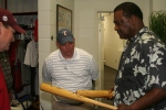 Don Baylor and his bats