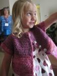 Lauren's sweater
