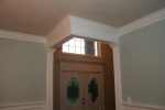 Cornice view from dining room