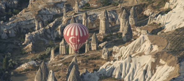 Balloon over Fairy Chimneys