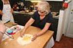 Anna making pasta