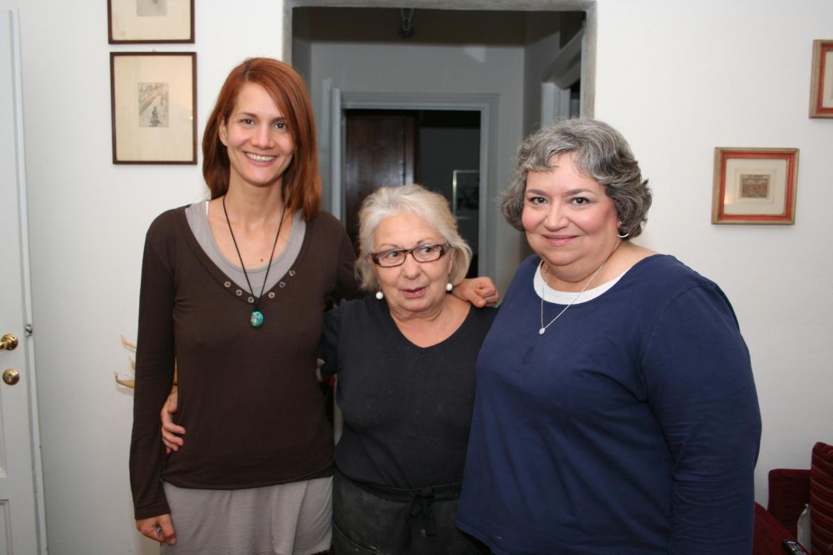 Mari, Anna, and Jackie