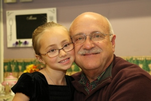 Lauren and Papa J