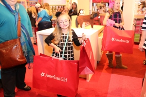 Satisfied American Girl customer