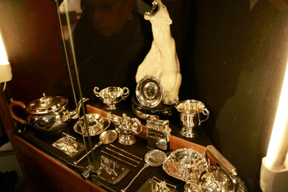 Beautiful silver serving pieces
