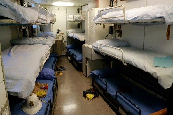Sailor's bunks