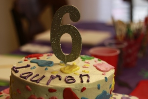 "The ""big 6th birthday"""