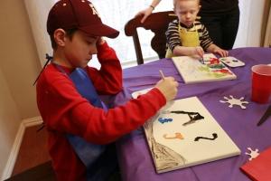 Jackson painting